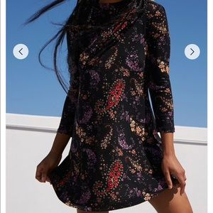 Paisley Floral Mini Dress